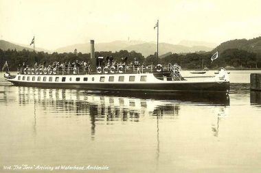 Historical photo of MV Tern built in 1891