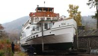 Six boats coming out of the water for planned winter maintenance