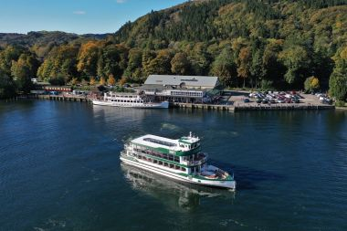 Swift departing Lakeside Pier