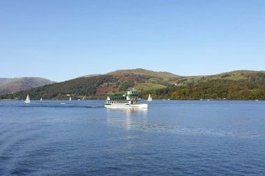 MV Swift on the Red Cruise from Ambleside