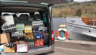 Windermere Lake Cruises deliver snacks and drinks to Lancaster's Intensive Care Unit