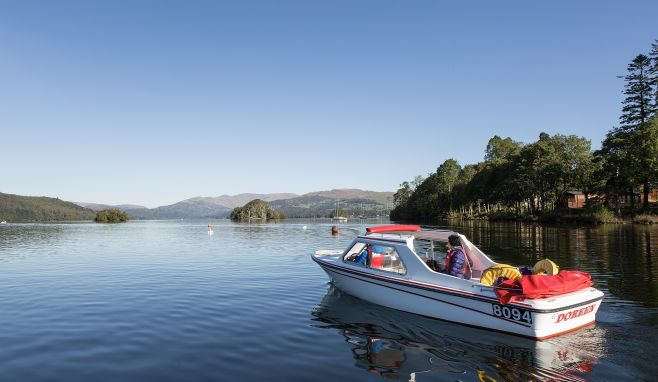 Windermere Lake Cruises make Self Drive Motor Boats available for customers to rediscover lake after lockdown