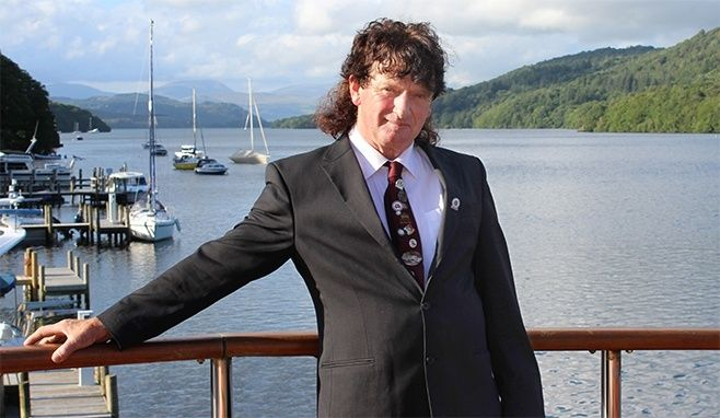 Windermere stalwart honoured for half a century working on the lake