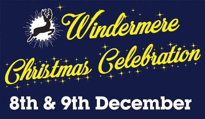 Windermere Christmas Celebration Banner and Logo