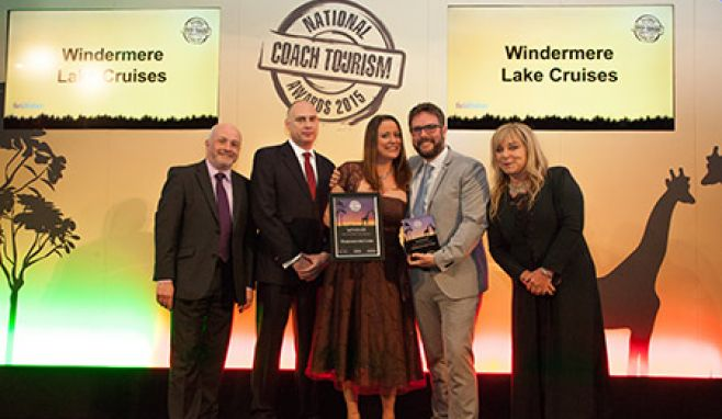 Cumbrian attraction sails away  with national tourism award