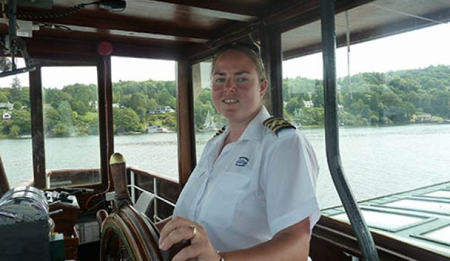 Windermere Lake Cruises appoints first ever female skipper for iconic 'steamers'