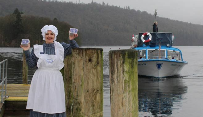 Windermere Lake Cruises welcomes Grasmere Gingerbread on board