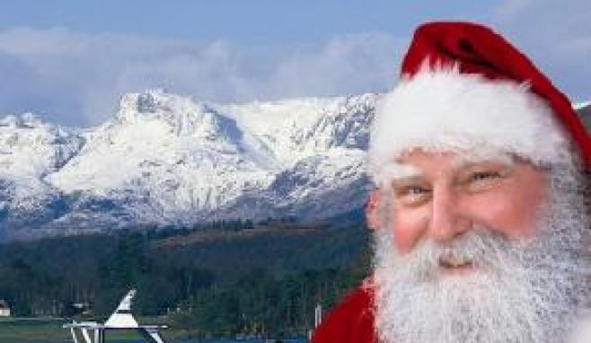Jump aboard a Santa Sailing on England's longest lake