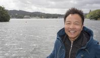 Famous Chinese rock star visits Windermere