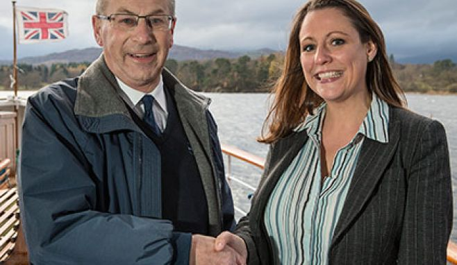 New face joins Windermere Lake Cruises, as company stalwart retires after 30 years