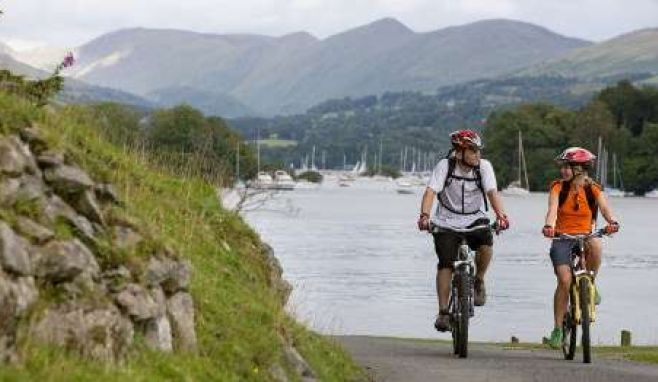 Half term family fun: Free bike hire and British Cycling-led guided rides in the Lakes