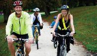 'Celebration of Cycling' event brings two-wheeled holiday fun for families