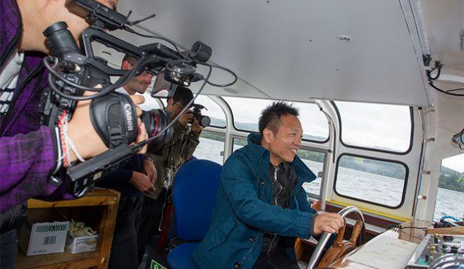 International film crews descend on Windermere
