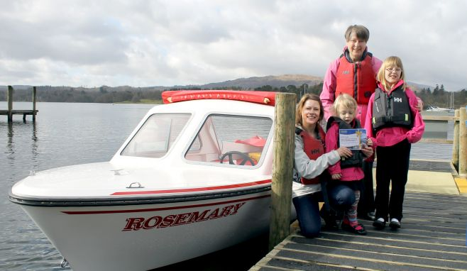 Carlisle mum wins competition to have name immortalised on Windermere vessel