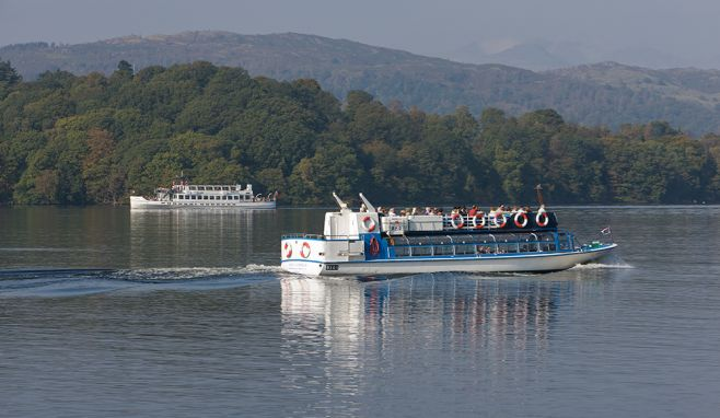 """'Steamer' cruise in the Lakes named as """"dream activity"""" for international visitors"""