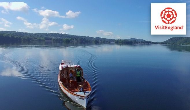 Windermere Lake Cruises named as one of England's most visited tourist attractions