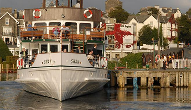 Windermere Lake Cruises named as one of England's top ten most popular 'paid for' visitor attraction