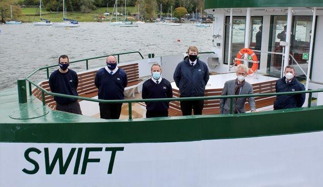 Meet the crew on board MV Swift