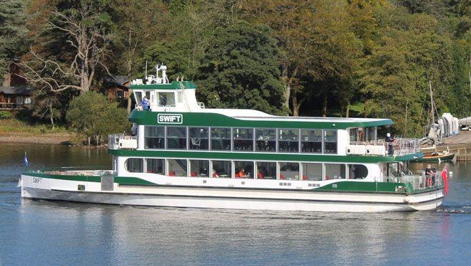 Maiden voyage of MV Swift