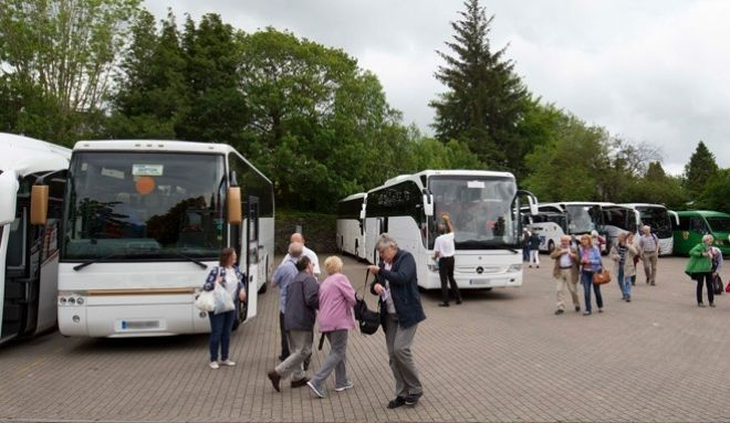 Bowness Coach Park operated by Windermere Lake Cruises