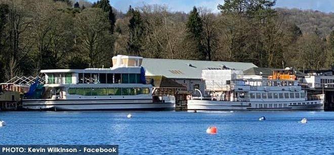 MV Swift at Lakeside Pier