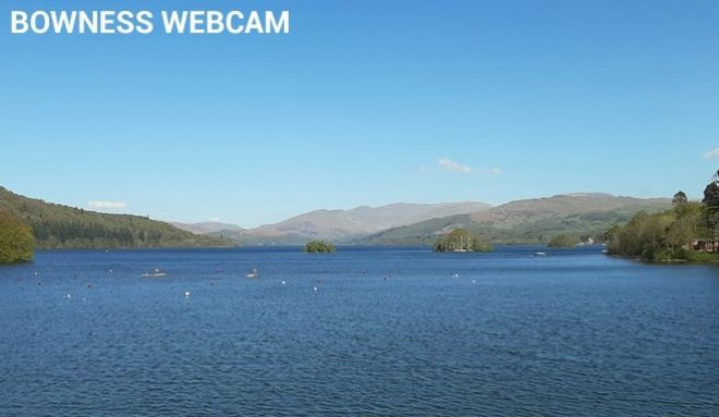 An image from Bowness webcam