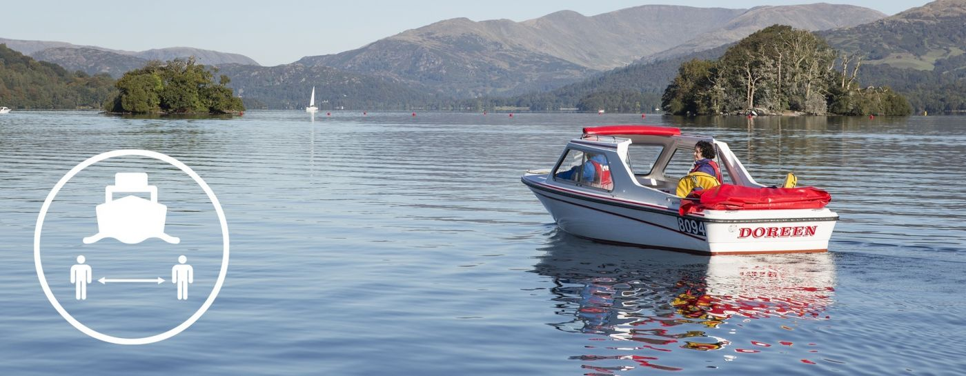 Discover the beauty of Lake Windermere at your own pace, safely in your own space.