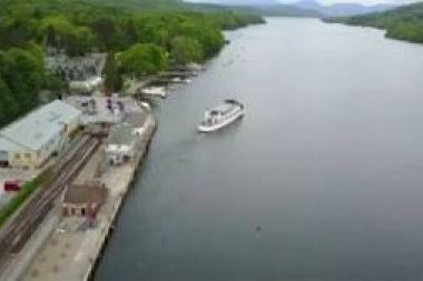 Aerial footage of our boats on Lake Windermere (no audio)