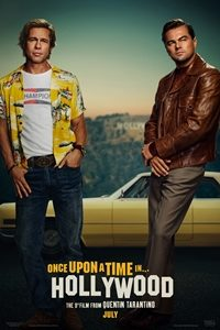 UK film poster for Once Upon a Time In Hollywood
