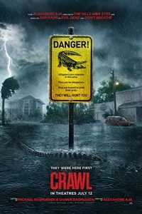 UK film poster for Crawl