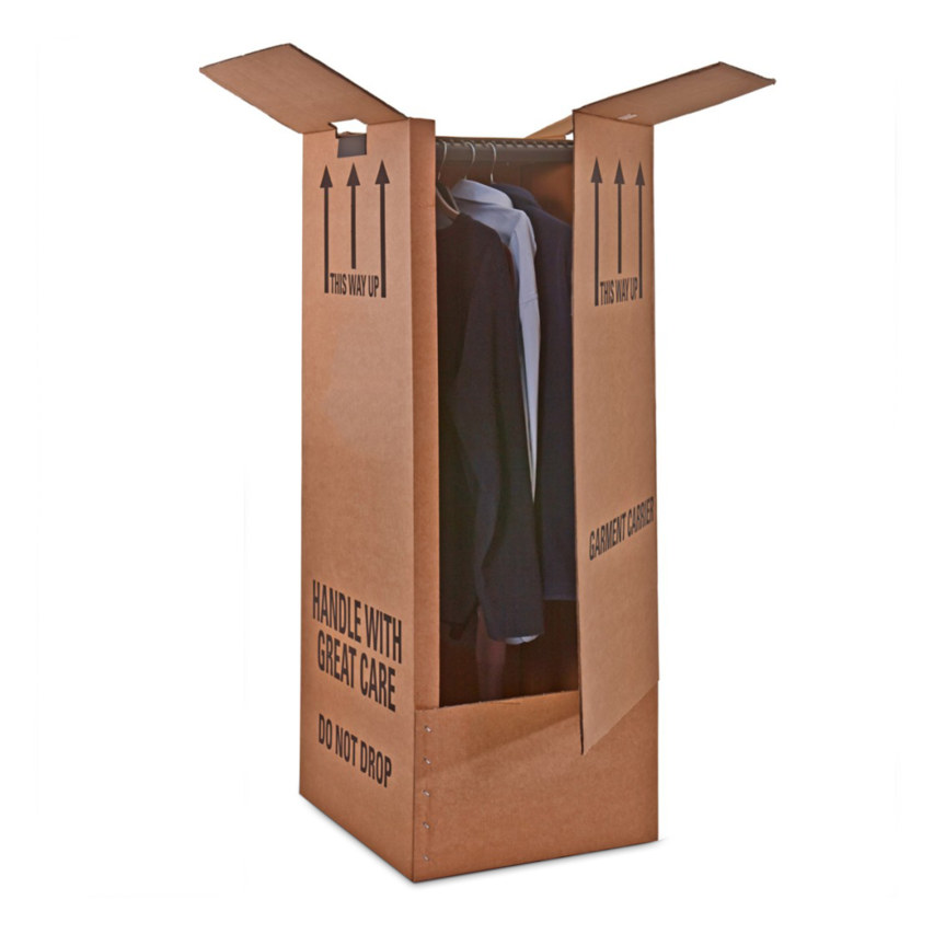 self storage wardrobe box
