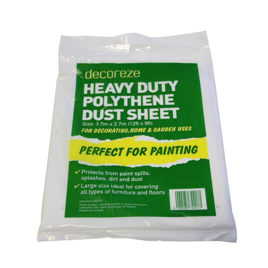 self storage dust sheet