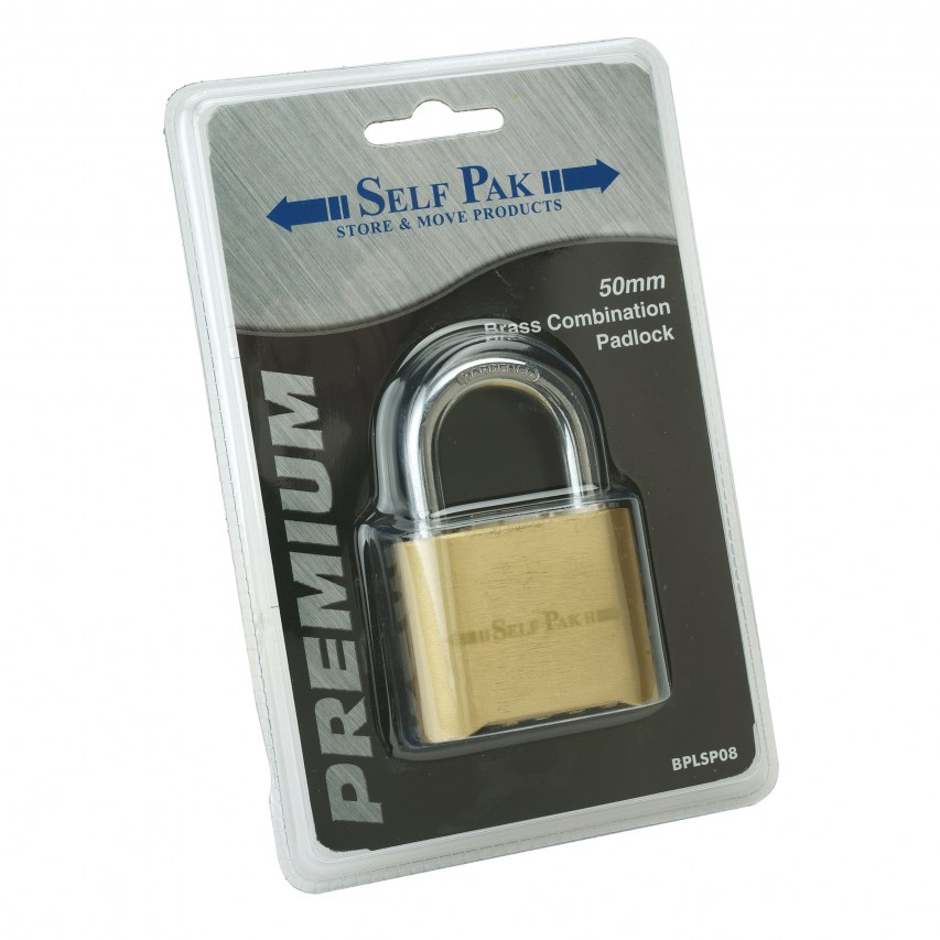 Self Storage combination lock