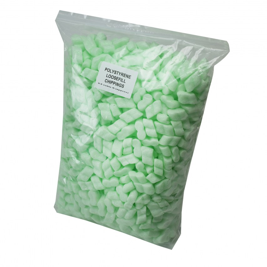Self Storage polystyrene chippings