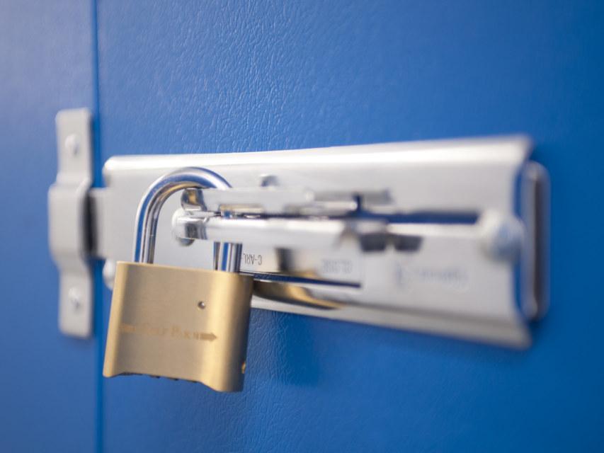 Self Storage padlock