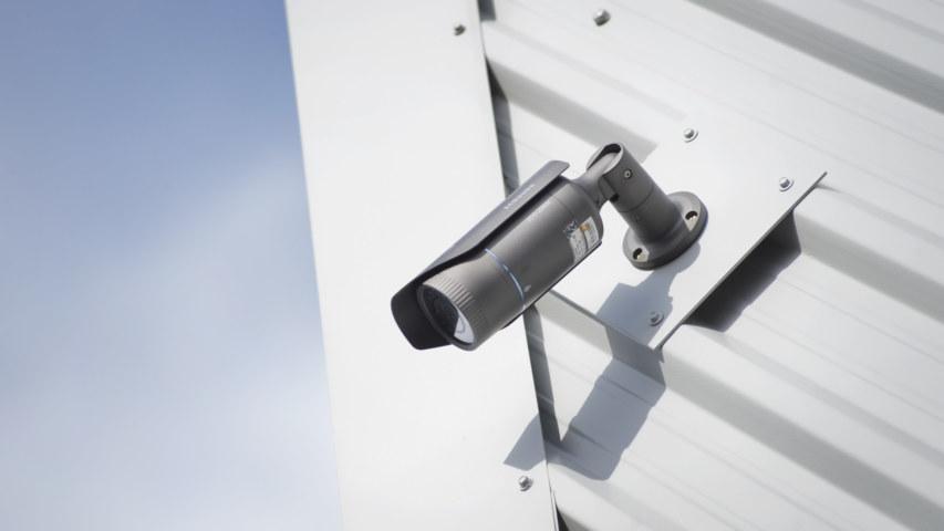 Self storage CCTV