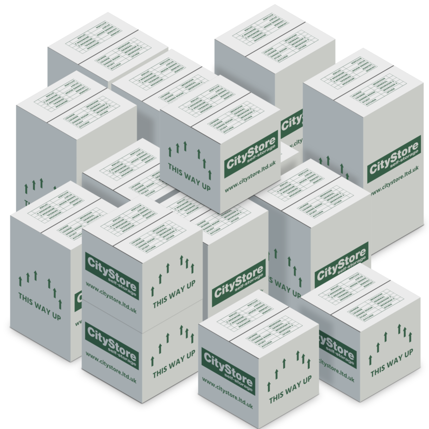 Self Storage Standard box pack