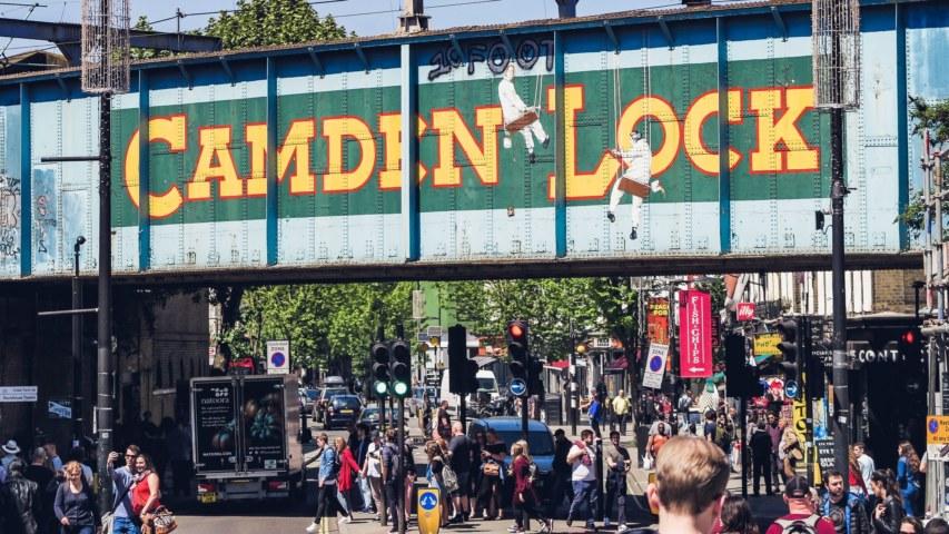 Camden Market Trader storage