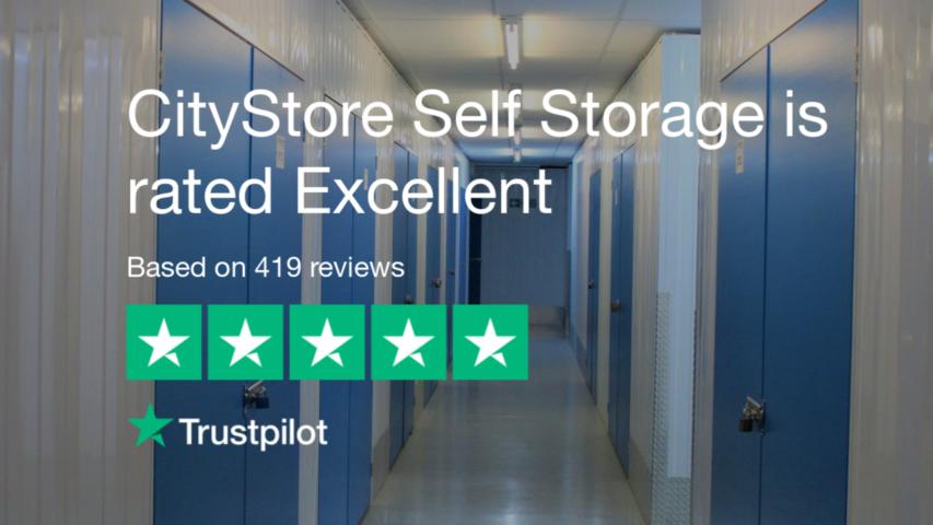 Self Storage Trustpilot review