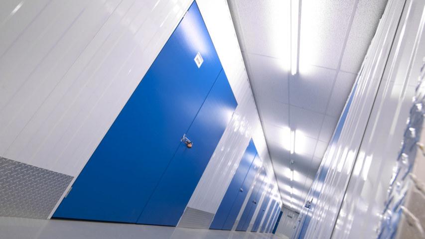 Self Storage corridoor