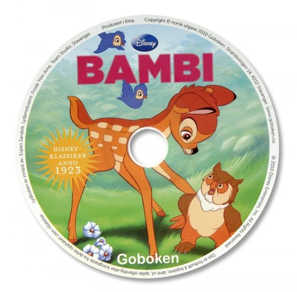 Bambi – Lydbok 1