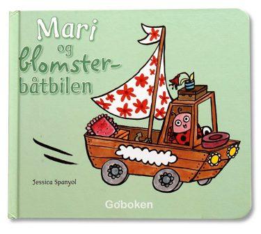 Mari og blomsterbåtbilen