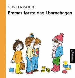 Emmas første dag i barnehagen