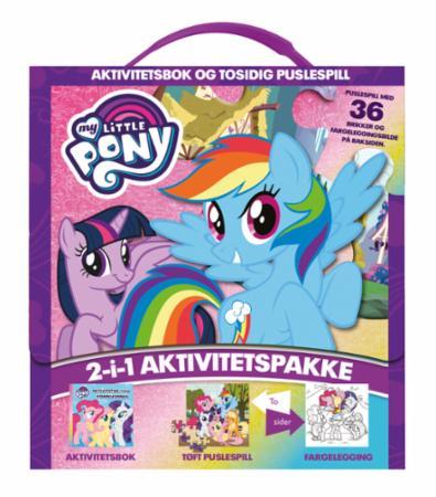 Splinternye My Little Pony. Aktivitetsbok og puslespill - Gobokhandelen KL-36