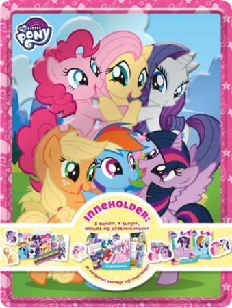 Topmoderne My Little Pony. Tinnboks m/aktivitetsbøker - Gobokhandelen TW-42