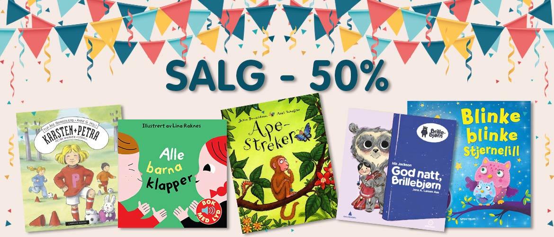 8c45aff5 Over 150 bøker på salg – til fantastiske priser!