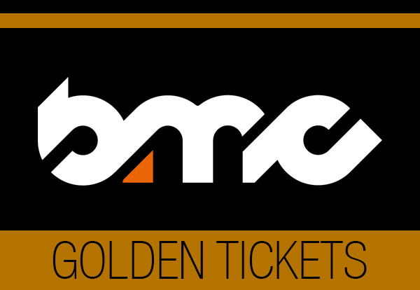 GOT YOUR GOLDEN TICKET?