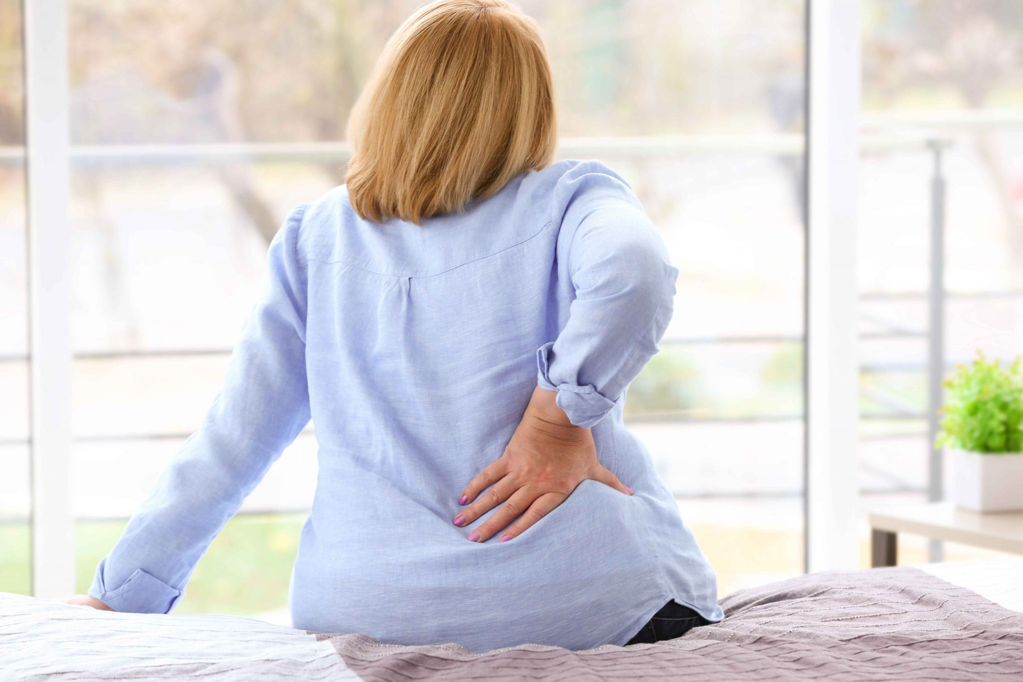 Breaking the back-pain-weight-gain cycle