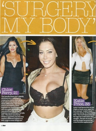 now magazine celebrity surgery