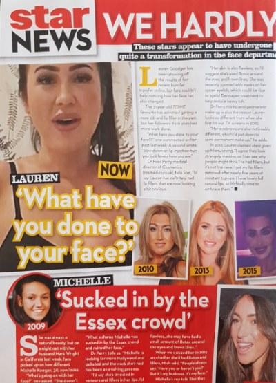 star magazine celeb faces
